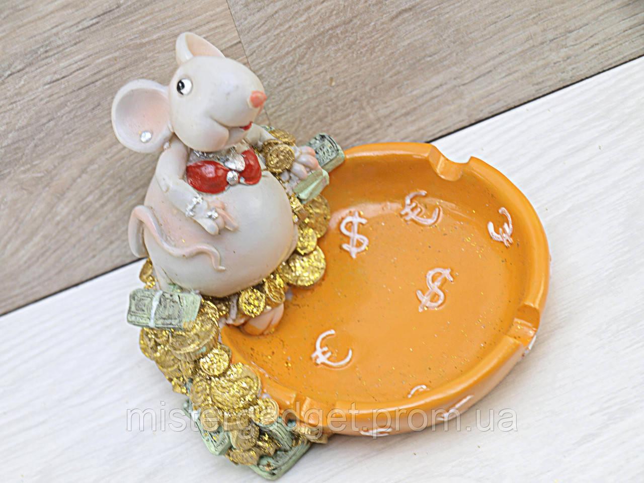 Пепельница Мышка (1314)