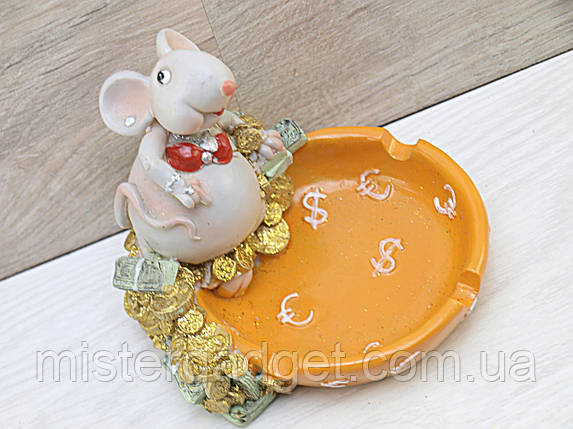 Пепельница Мышка (1314), фото 2