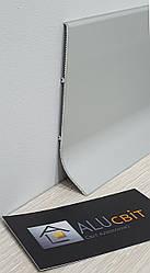 Плинтус накладной алюминиевый  100 мм анодированный