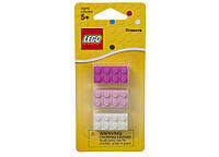 Lego набор стирательных резинок Brick Erasers для девочек 852734