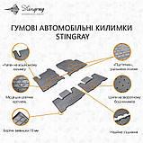 Коврики автомобильные Mercedes-Benz Sprinter II W906 (1+2) 2006- Stingray, фото 3