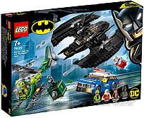 Lego Super Heroes Бэткрыло Бэтмена и ограбление Загадочника 76120