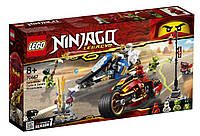 Lego Ninjago Мотоцикл-клинок Кая и снегоход Зейна 70667