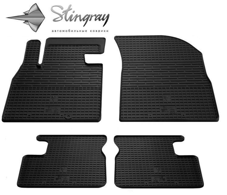Автомобильные коврики на Nissan Micra K13 2013-2017 Stingray