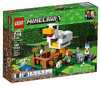 Lego Minecraft Курятник 21140