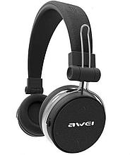 Беспроводные Bluetooth наушники Awei A700BL, черные