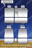 Авточехлы Nissan X-Trail 2000-2007 Nika, фото 2