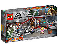Lego Jurassic World Полювання на Рапторов в Парку Юрського Періоду 75932