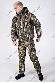 Камуфляжный костюм зимний Светлый клен