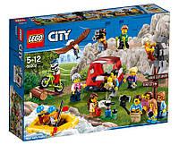 Lego City Набор минифигурок Любители активного отдыха 60202