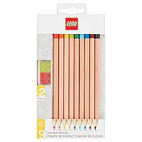 Lego Набор цветных карандашей 9 шт 51515