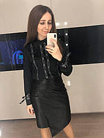Жіноча шовкова блузка Chanel, фото 1