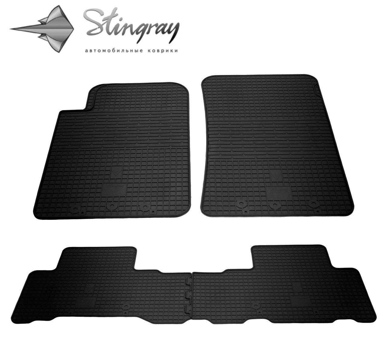 Резиновые коврики Ssang Yong Rexton W 2013- Stingray