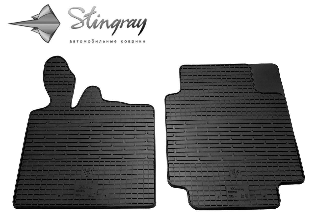 Ковры в салон Smart Fortwo II (C451) 2007-2014 Stingray