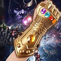 Игровая Детская Перчатка Супергероя Таноса Сувенир для детей - Мстители Война бесконечности Avengers Marvel