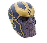 Игровая Коллекционная Маска суперзлодея Таноса, Мстители универсальная, латексная - The Avengers Thanos Marvel