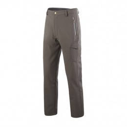 Тактические штаны на флисе Softshell Esdy Ranger Gray