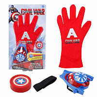 Рукавичка супергероя Капітан Америка - Captain America