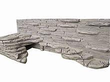 Фон для террариума - скала с большим укрытием