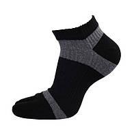Носки с пальцами мужские GINZIN 39-42 Черно-серый