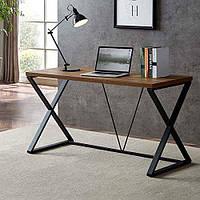 Дизайнерский Письменный офисный стол в стиле Лофт Loft RV248
