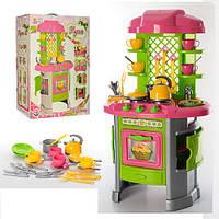 Детская игрушечная кухня от ТМ  ТехноК с набором посуды, 30 предметов, высота 82 см арт. 0915