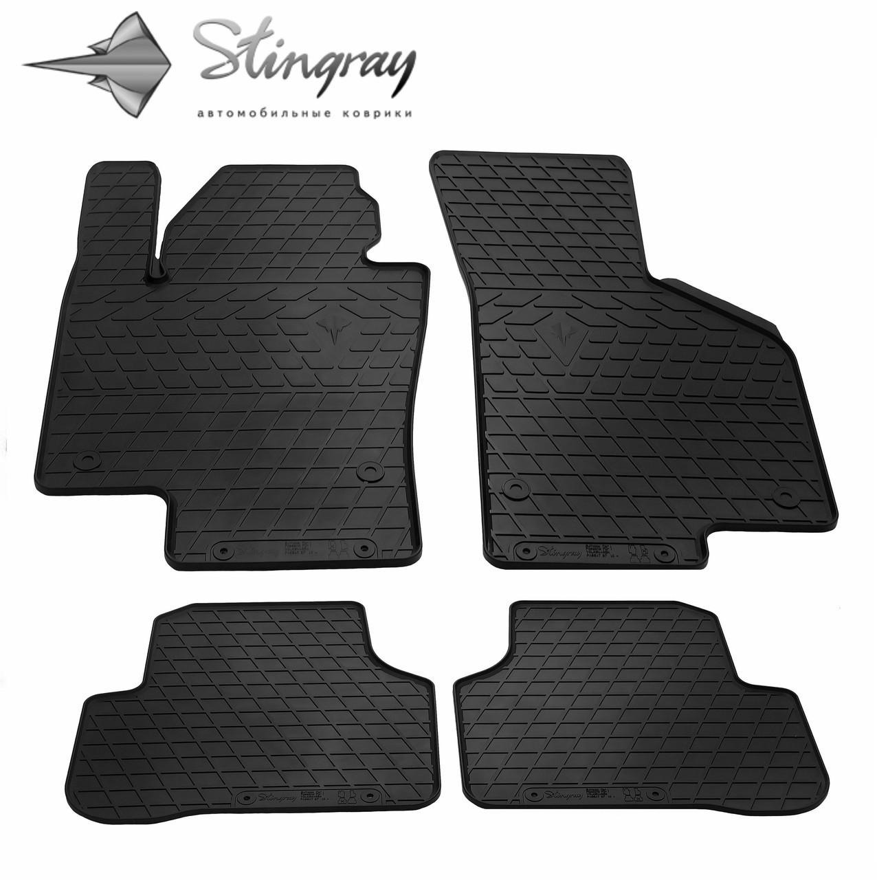 Коврики автомобильные для Volkswagen Passat B7 2010-2014 Stingray