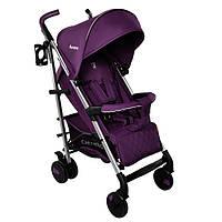 *Детская прогулочная коляска с корзиной, подстаканником и чехлом на ножки, ТМ Carrello, Amethyst CRL- 8504