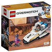Lego Overwatch Трейсер против Роковой Вдовы 75970