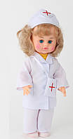 Детская Кукла для девочек Милана Доктор в костюме медицинского работника с аксессуарами, 40 см, арт. 207