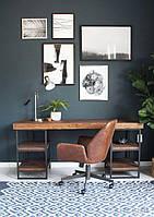 Дизайнерский Письменный офисный стол в стиле Лофт Loft