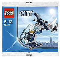 Lego City Полицейский вертолёт 30222, фото 1