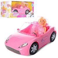 """Игрушечный набор Кукла с машиной """"Милана"""", длинна машины 33 см, кукла 29 см. арт. 877-30"""