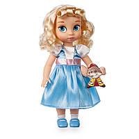 Коллекционная Игровая Кукла для девочек Золушка Дисней, высота 40 см, винил - Cinderella серия Disney