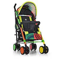 Детская прогулочная коляска-трость с 5-ти точечным ремнем, корзиной и чехлом на ножки, TM El Camino арт. 1035