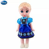 Коллекционная Игровая Кукла для девочек Эльза Холодное сердце Дисней, 30 см, винил - Elsa, Disney Animators