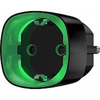 Умная розетка Ajax Socket Wi-Fi розетка с энергомониторингом черная (000012339)