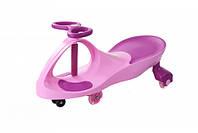 *Детская машинка Бибикар с двухцветным корпусом, Smart Сar New, размер машинки 80х30х42 см, розового цвета