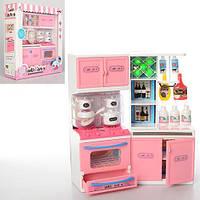 """Набор Игрушечной Мебели """"Кухня""""для кукол до 29 см, с посудой и аксессуарами, свет и звук, 23х32х8 см арт. 1704"""