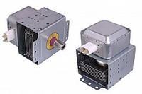 Магнетрон LG 2M214 универсальный, крепежи 180° к контактам для СВЧ микроволновой печи LG, Zelmer, Daewoo,Candy