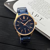 БЕСПЛАТНАЯ ДОСТАВКА! Часы наручные мужские кварцевые Curren Синие с стальным браслетом