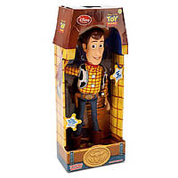 Говорящая Игровая Фигурка Шериф Вуди История игрушек говорит фразами из фильма, 41 см - Talking Woody, Disney, фото 1