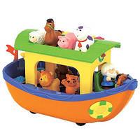 Детская Музыкальная игрушка Ноев ковчег, сортер, фигурки животных, стихи и песни на украинском, Kiddieland