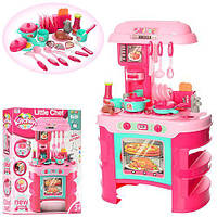 Детский Игровой Набор Кухня Little chef с аксессуарами, свет, звуковые эффекты, 69х45.5х26.5 см, арт. 008-908