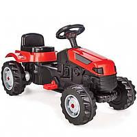 *Детская каталка-толокар с педалями для улицы и дома, ТМ Pilsan, размер 51-51-95 см, красный цвет арт. 07-314
