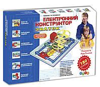 "Электронный конструктор ""Знаток"" Kiddisvit, 180 электросхем арт. REW-K003"