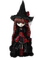 Кукла Коллекционная Пуллип Вильгельмина в образе ведьмочки с аксессуарами и подставкой, 31см - Pullip