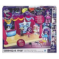 Моя маленькая пони My Little Pony Equestria Girls Minis Canterlot High Dance Playset with Twilight Sparkle