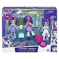 Игровой набор Кукла шарнирная Твайлайт Спаркл со сменной одеждой - Equestria Girls Minis Fashions My Little