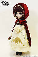 Кукла Коллекционная шарнирная Пуллип Красная Шапочка с аксессуарами и подставкой, 31 см - Pullip Bloody Red